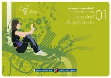 01. La evolución y densidad de población - Gazteaukera - Euskadi.net