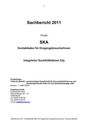 Sachbericht 2011 SKA