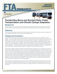 Flooded Bus Barns and Buckled Rails: Public Transportation and ...