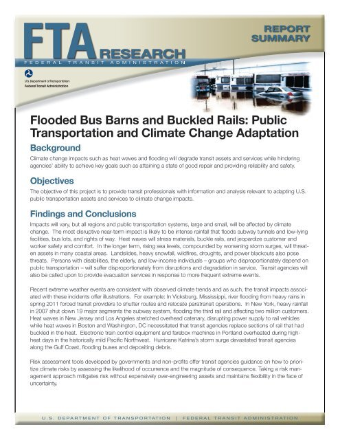 Flooded Bus Barns And Buckled Rails Public Transportation And