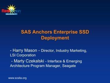 SAS Anchors Enterprise SSD Deployment - Flash Memory Summit