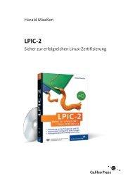 LPIC-2 (PDF) - Galileo Computing