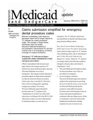Claims submission simplified for emergency dental procedure codes