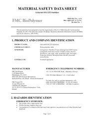 Gelcarin® DX 5253 Stabilizer - FMC Corporation