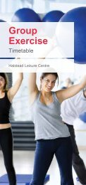 Group Exercise - Fusion Lifestyle