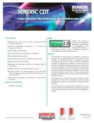 SERIDISC CDT SERIDISC CDT - FUJIFILM Sericol Global