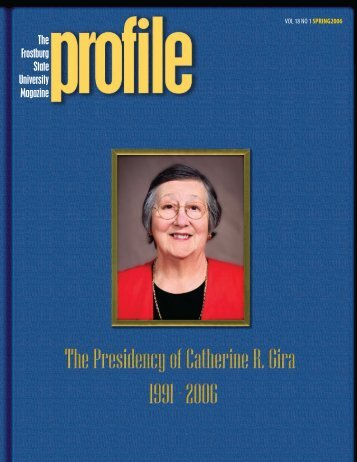 web cover - Frostburg State University