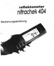 Bedienungsanleitung_Nitracheck404 (2,39 MB) - Gartenversand ...