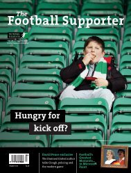 Download your free copy of The Football Supporter here.