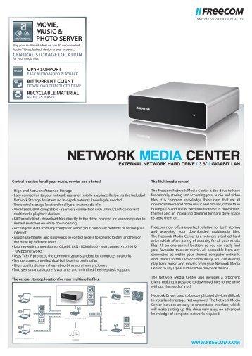 Datasheet Network Media Center EN_943.indd - Icecat