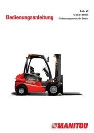 Technische Daten und Typenblatt - Forklift