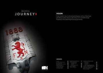 JOURNEY - Fraser and Neave Limited