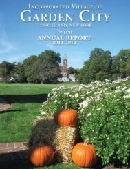 GC ANNUAL 05-06 - Incorporated Village of Garden City