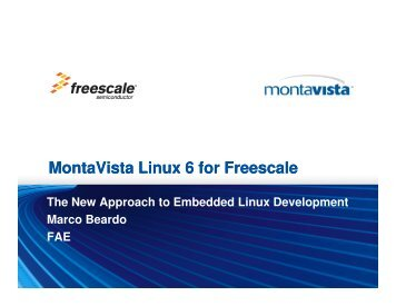 The new approach to embedded Linux development