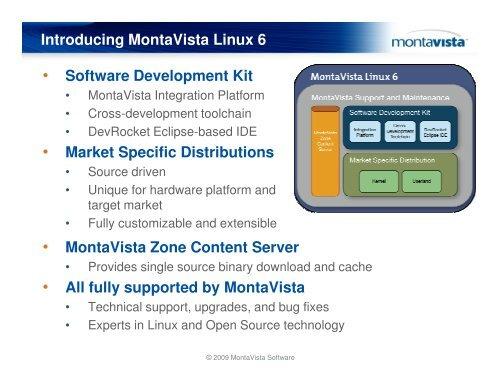 MontaVista Linux