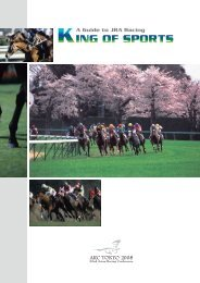 ALL [PDF:6.94MB] - Horse Racing in Japan