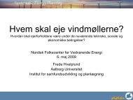 princip regnestykke! - Nordic Folkecenter for Renewable Energy