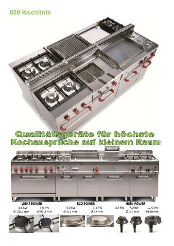 600 Kochlinie - Gastro-Ausverkauf.de