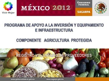 Agricultura Protegida-REGISTRO DE ... - Financiera Rural