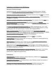 Publikationen und Adressen - Fulbright-Kommission