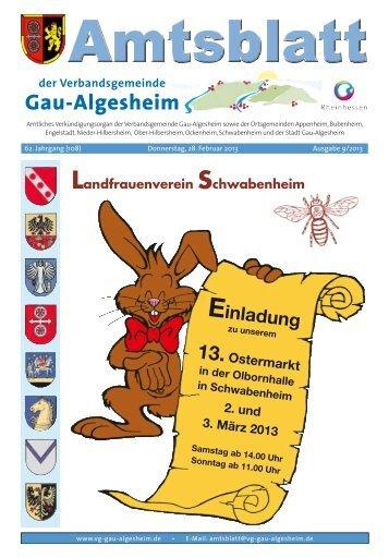 Schwabenheim - Verbandsgemeinde Gau-Algesheim