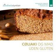 Cøliaki Og MAD UDEN gLUTEN - Fødevarestyrelsen