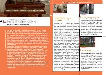 Paryż Fryderyka Chopina - Maison de la France