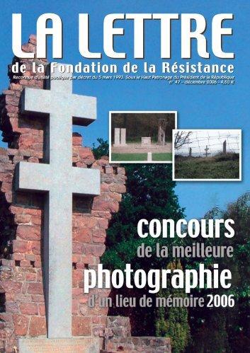 Télécharger au format PDF (2.0 Mo) - Fondation de la Résistance