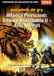Król Nazguli - Gandalf
