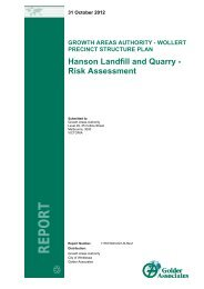Hanson Landfill and Quarry - Risk Assessment - Growth Areas ...