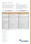 CleanCart®-Kartuschen - Gambro - Seite 2