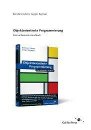 Objektorientierte Programmierung (PDF) - Galileo Computing