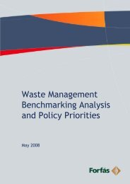 Waste Management Benchmarking Analysis and Policy ... - Forfás