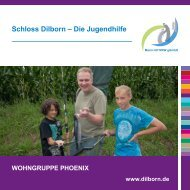 Kinderwohngruppe Phoenix - Schloss Dilborn - Die Jugendhilfe