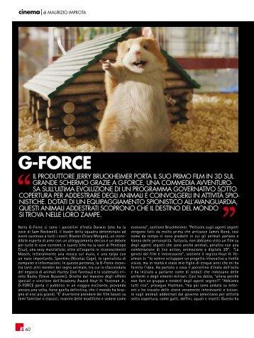 G-fORCE - fleming press