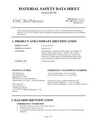 Textureze MT 660 - FMC Corporation