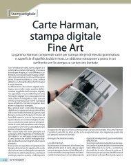 Carte Harman, stampa digitale Fine Art - Fotografia.it