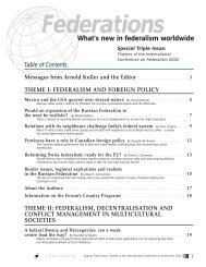 swiss1 -foreignpolicy .pdf - Forum of Federations