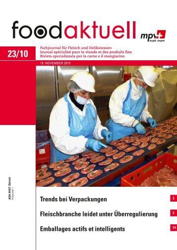 Trends bei Verpackungen Fleischbranche leidet ... - Foodaktuell.ch