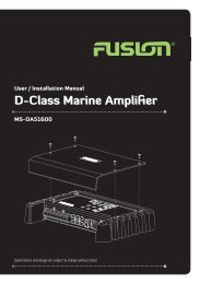 MS-DA51600 Amplifier Manual.indd - Datatail