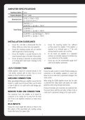 MS-DA51600 Amplifier Manual.indd - Datatail - Page 2