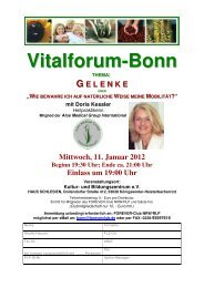 Vitalforum-Bonn