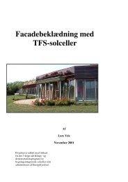 Facadebeklædning med TFS-solceller - Nordic Folkecenter for ...