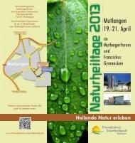 Veranstaltungsorte: - Freundeskreis Naturheilkunde Mutlangen