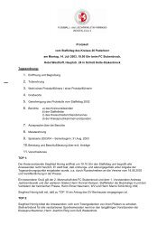 Protokoll Staffeltag 2003 - FLVW Kreis Paderborn