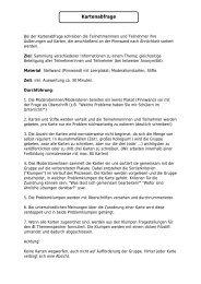 Kartenabfrage - GanzTag in NRW