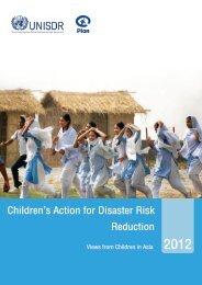 Children's Action for Disaster Risk Reduction - PreventionWeb
