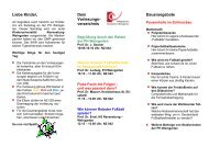 Flyer zur Kinderuni - Mathematik