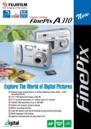 Explore The World of Digital Pictures - Fujifilm USA