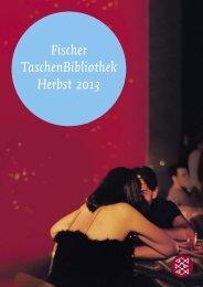 Fischer TaschenBibliothek Herbst 2013 - S. Fischer Verlag